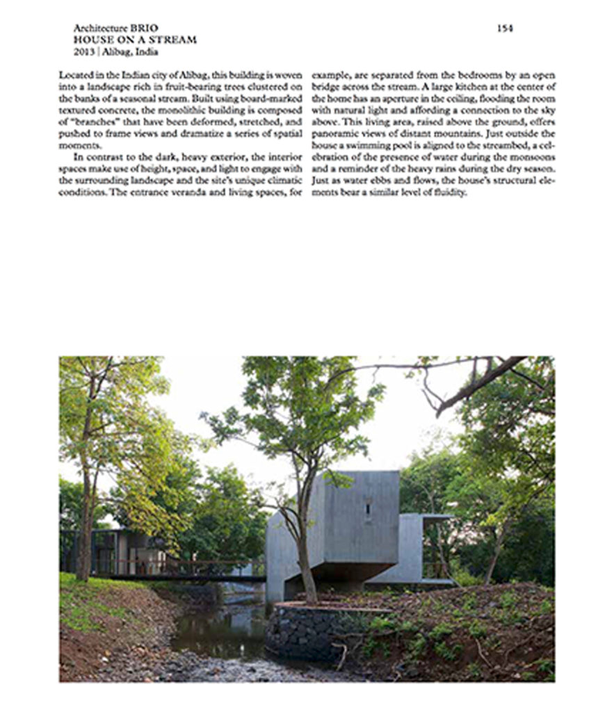 House on a Stream page from Elemental Living