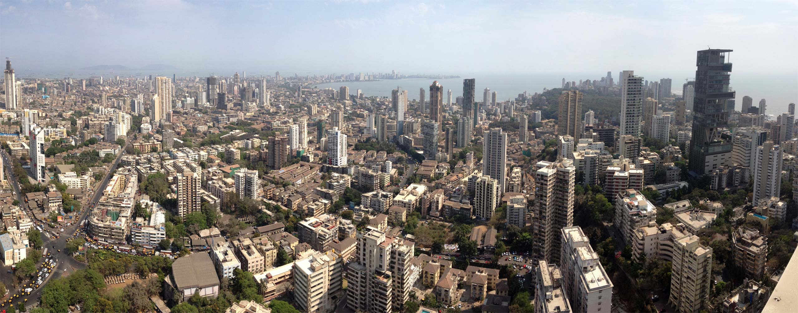 South Mumbai skyline