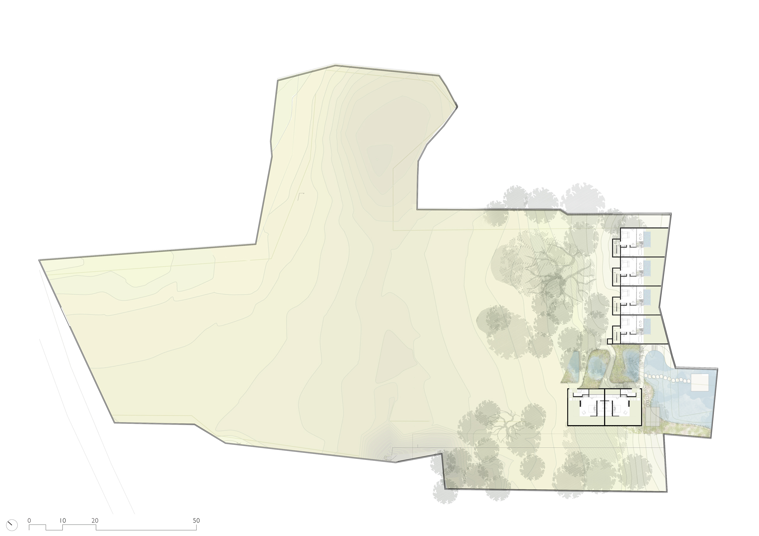 Floor Plan of Mandwa Wellness Resort