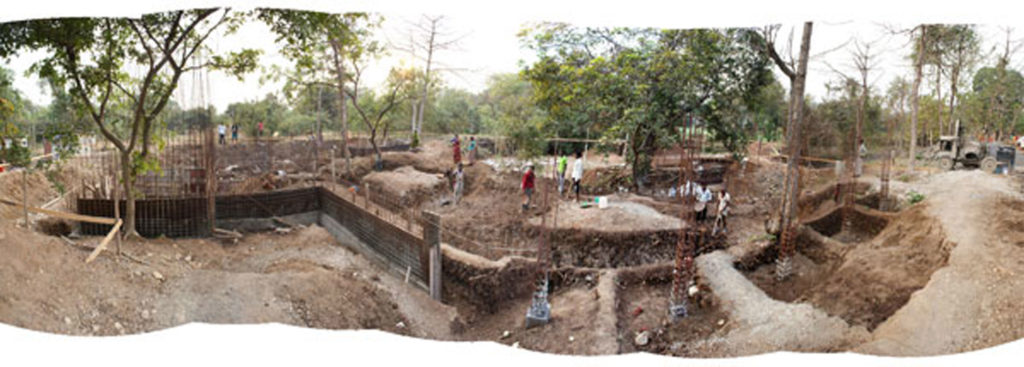 Construction update - House on a Stream