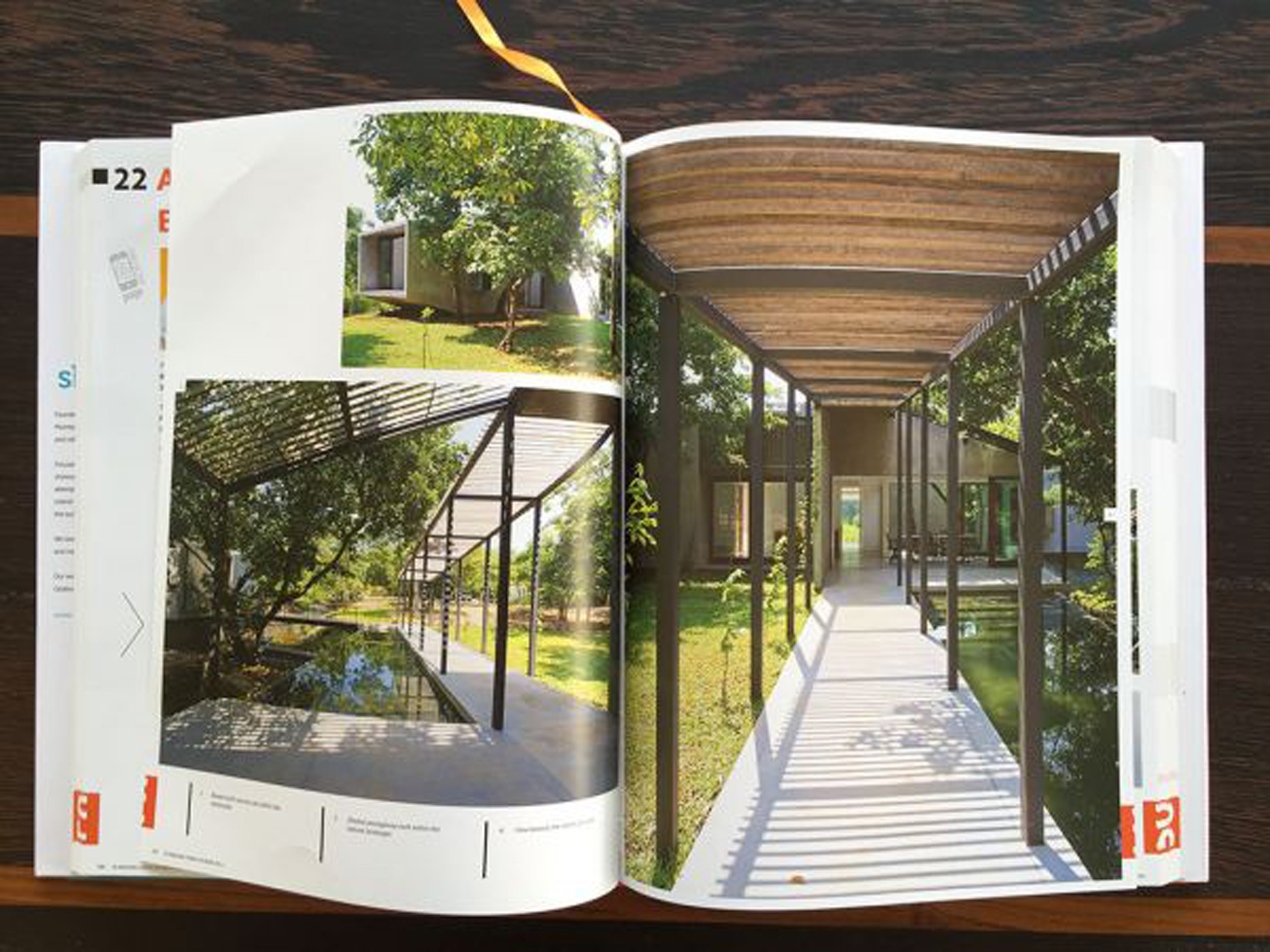 amazing homes - House on a Stream - spread