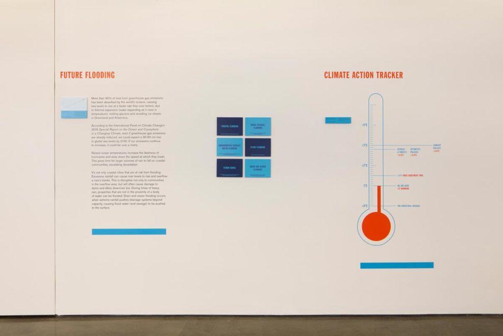 Sea Change - Flood Resilient Architecture Exhibition Photograph