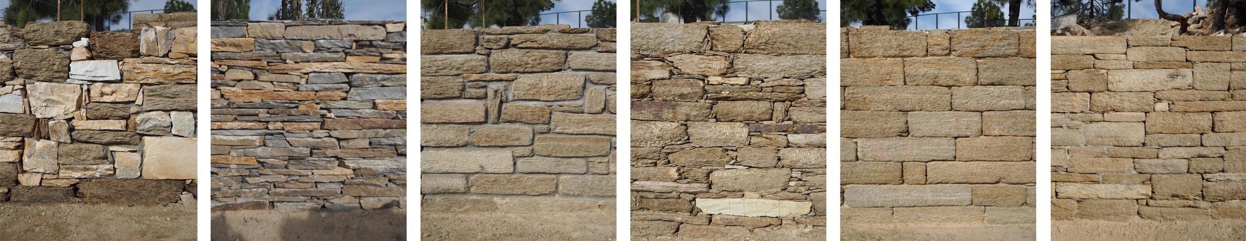 wall stone samples Himalayan Mountain Retreat in Mukteshwar