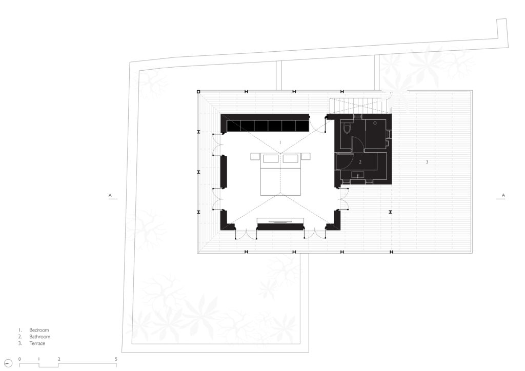 House in the Palms First floor plan