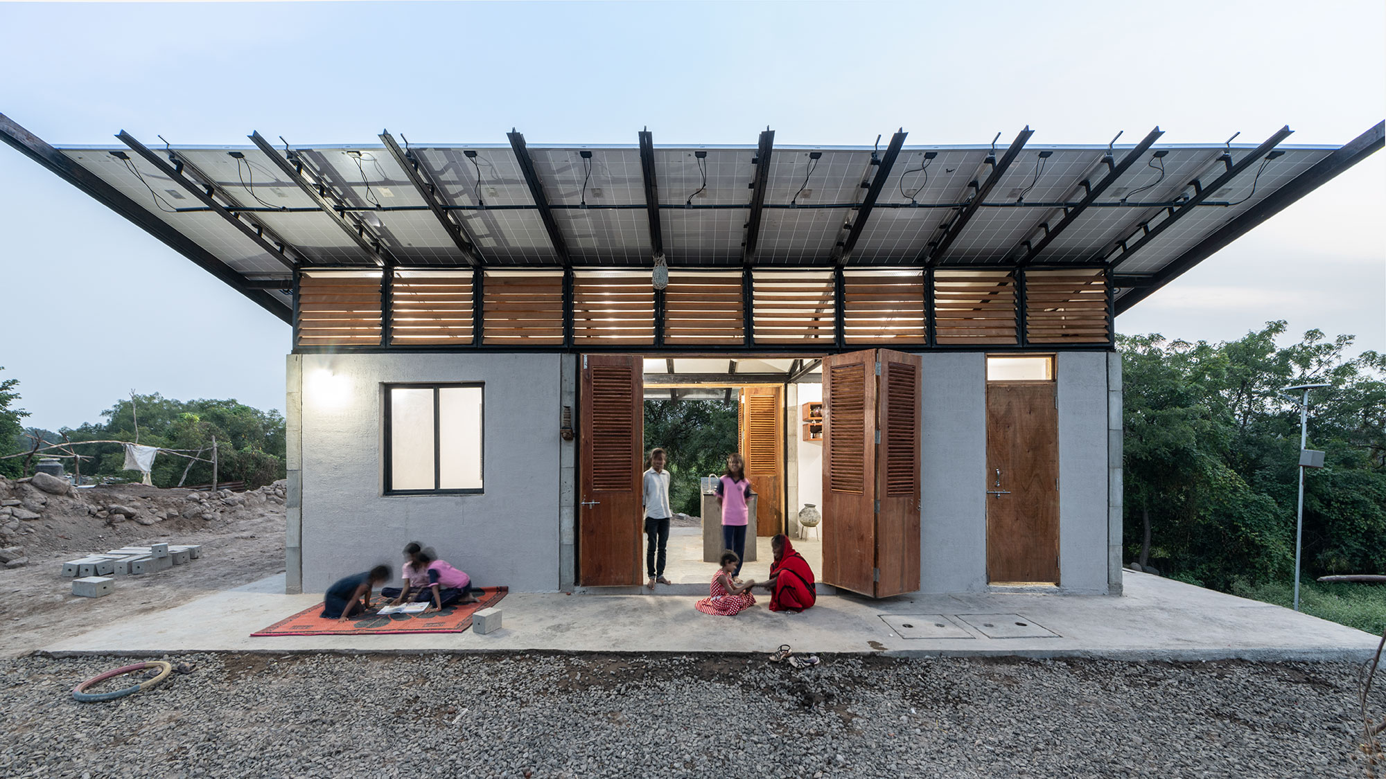 powerHYDE self financing carbon negative home for homeless families