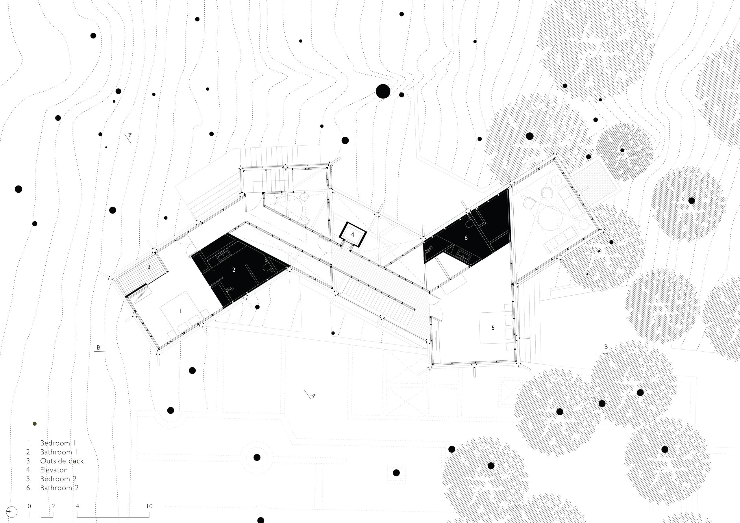 Floor Plan Level 2 - Canopy Villa Goa