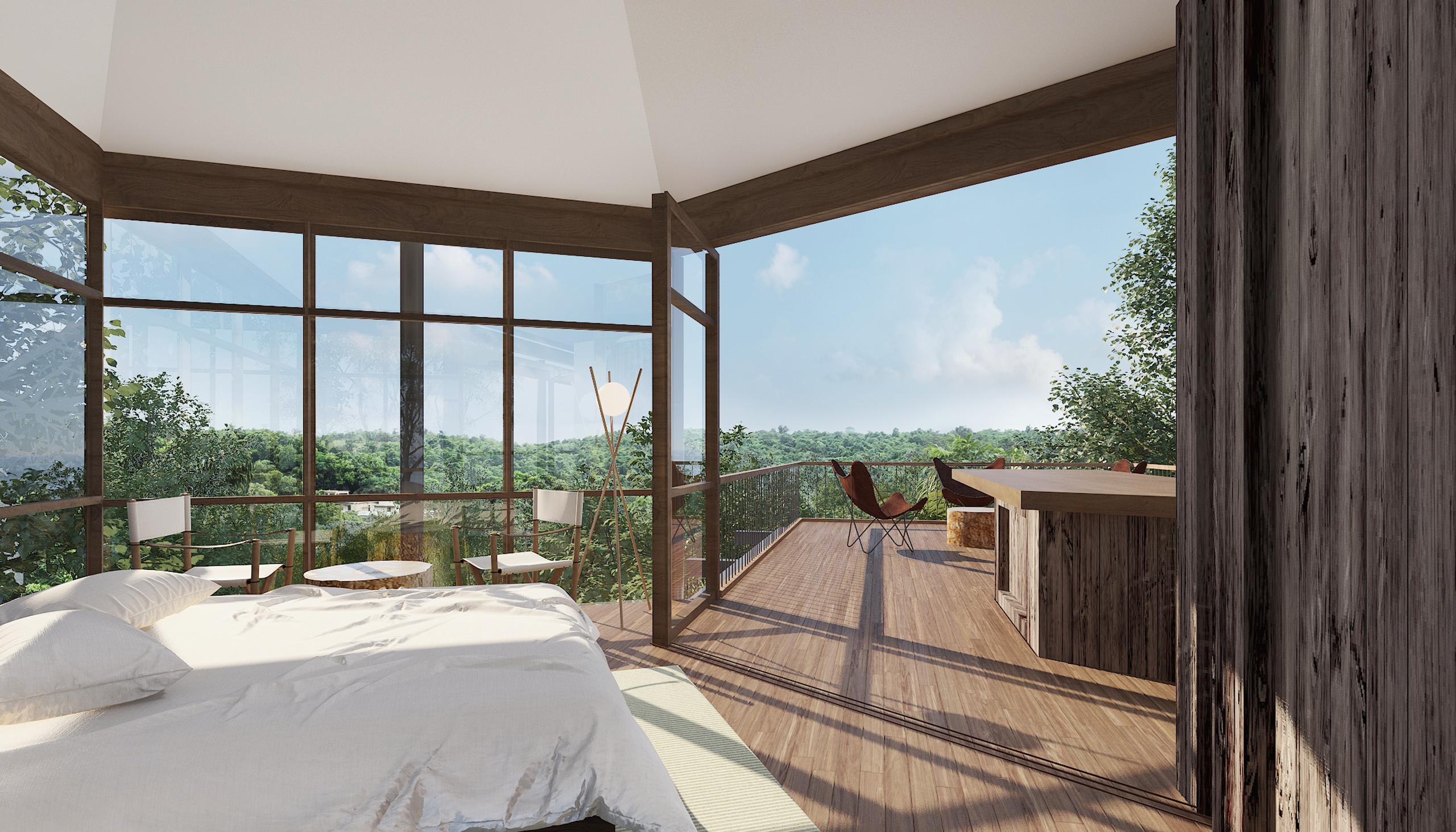 Canopy Villa Bedroom