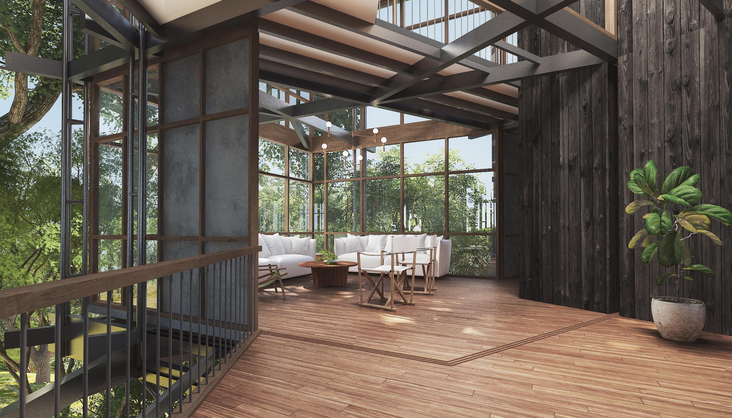 Living Room Socorro Villa-Goa