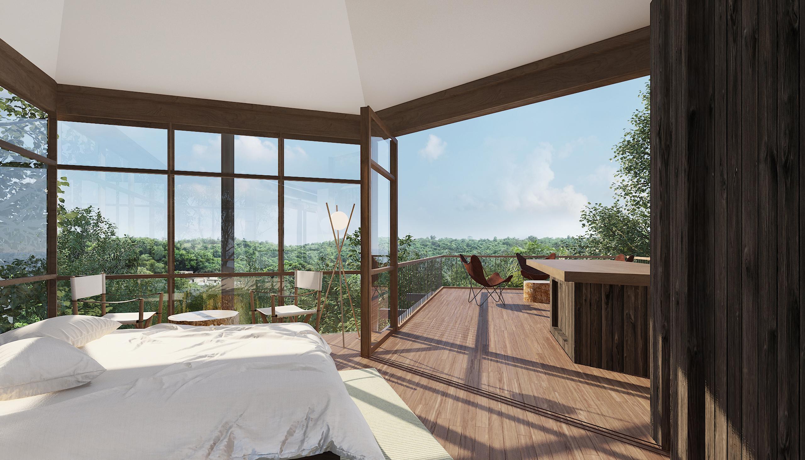 Master bedroom Socorro Villa-Goa