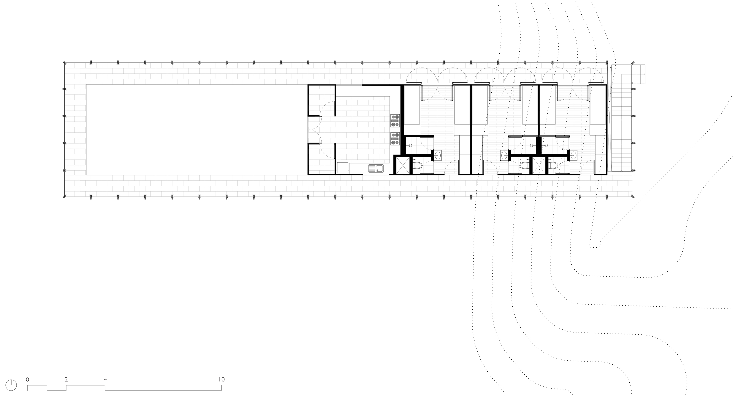 Floor Plan of Magic Bus Dormitory, Karjat