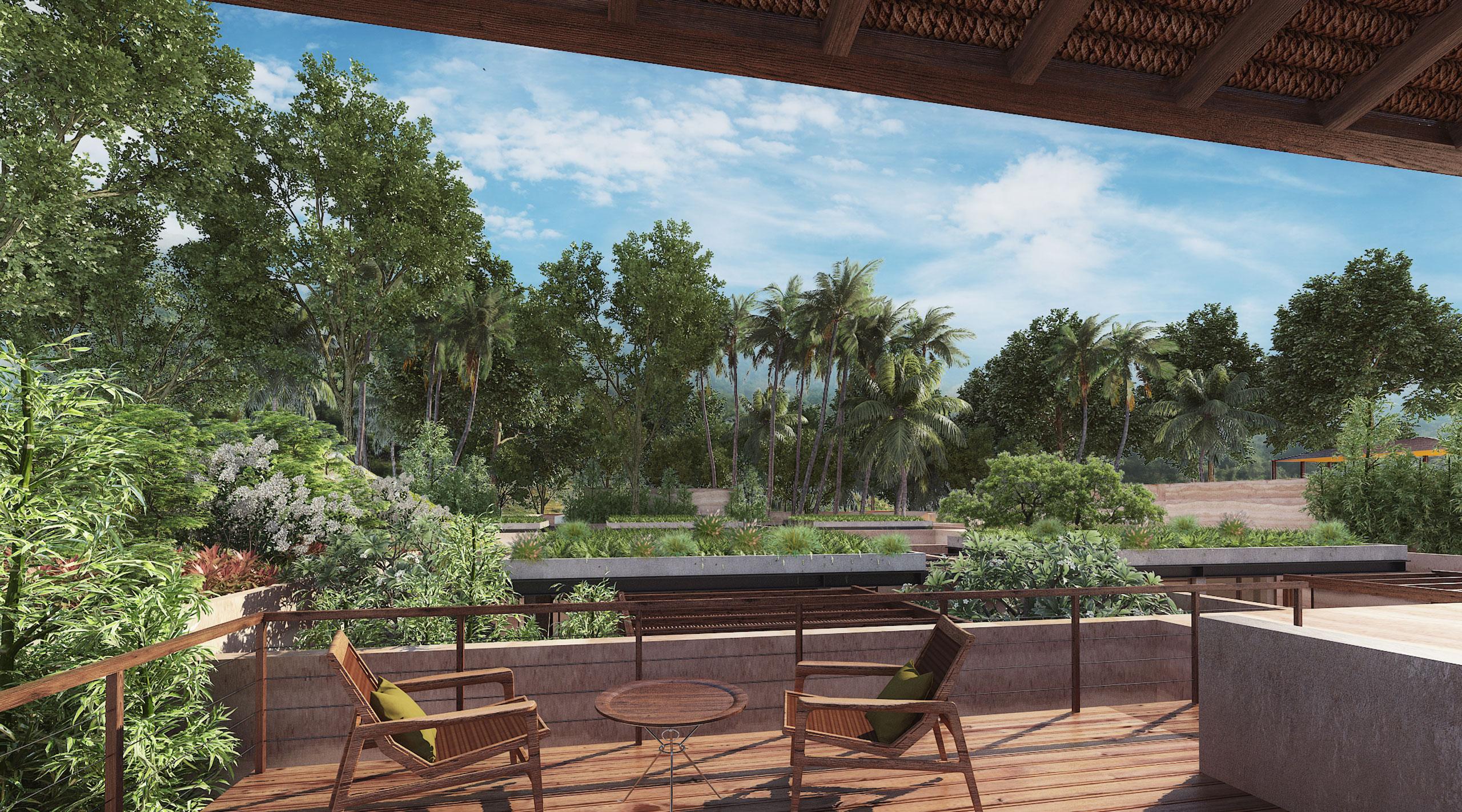 Mandwa Resort - view of landscape