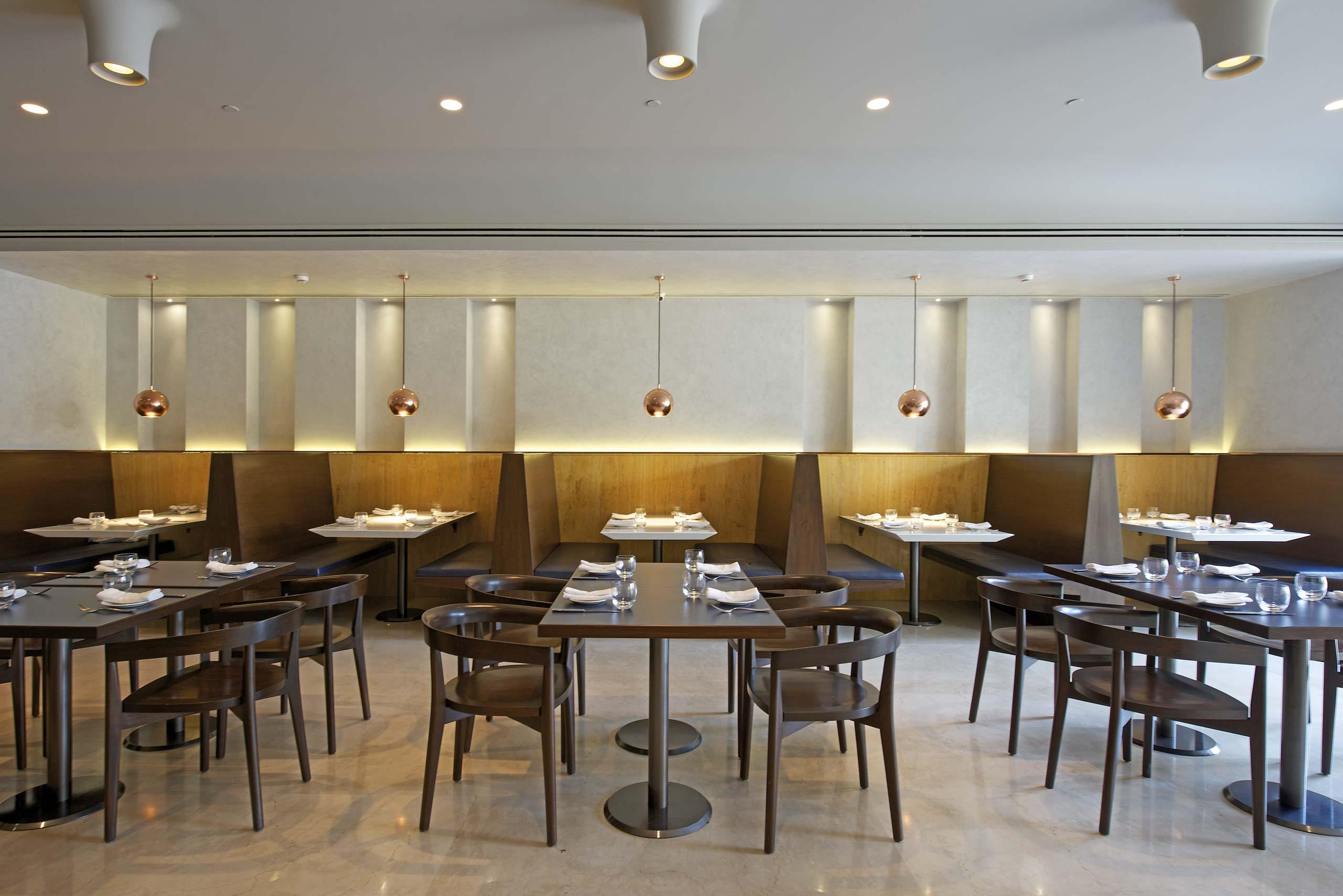 restaurant interior Otto infinito
