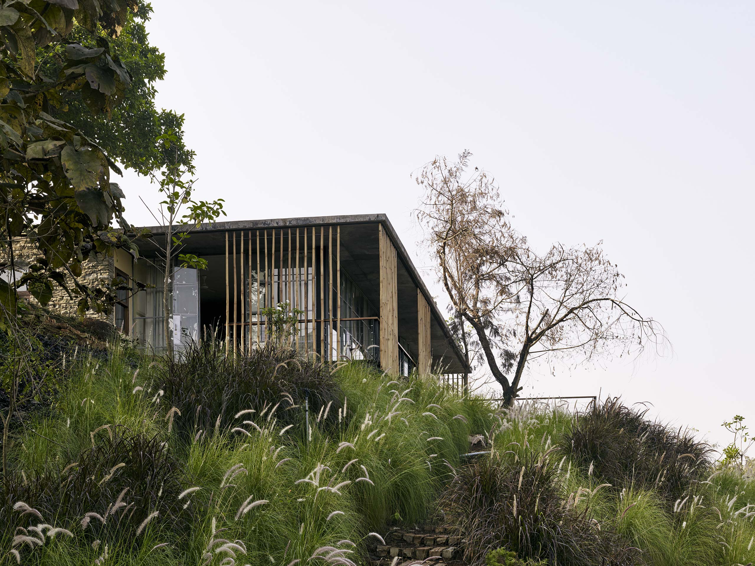 Riparian House house on a river Karjat india