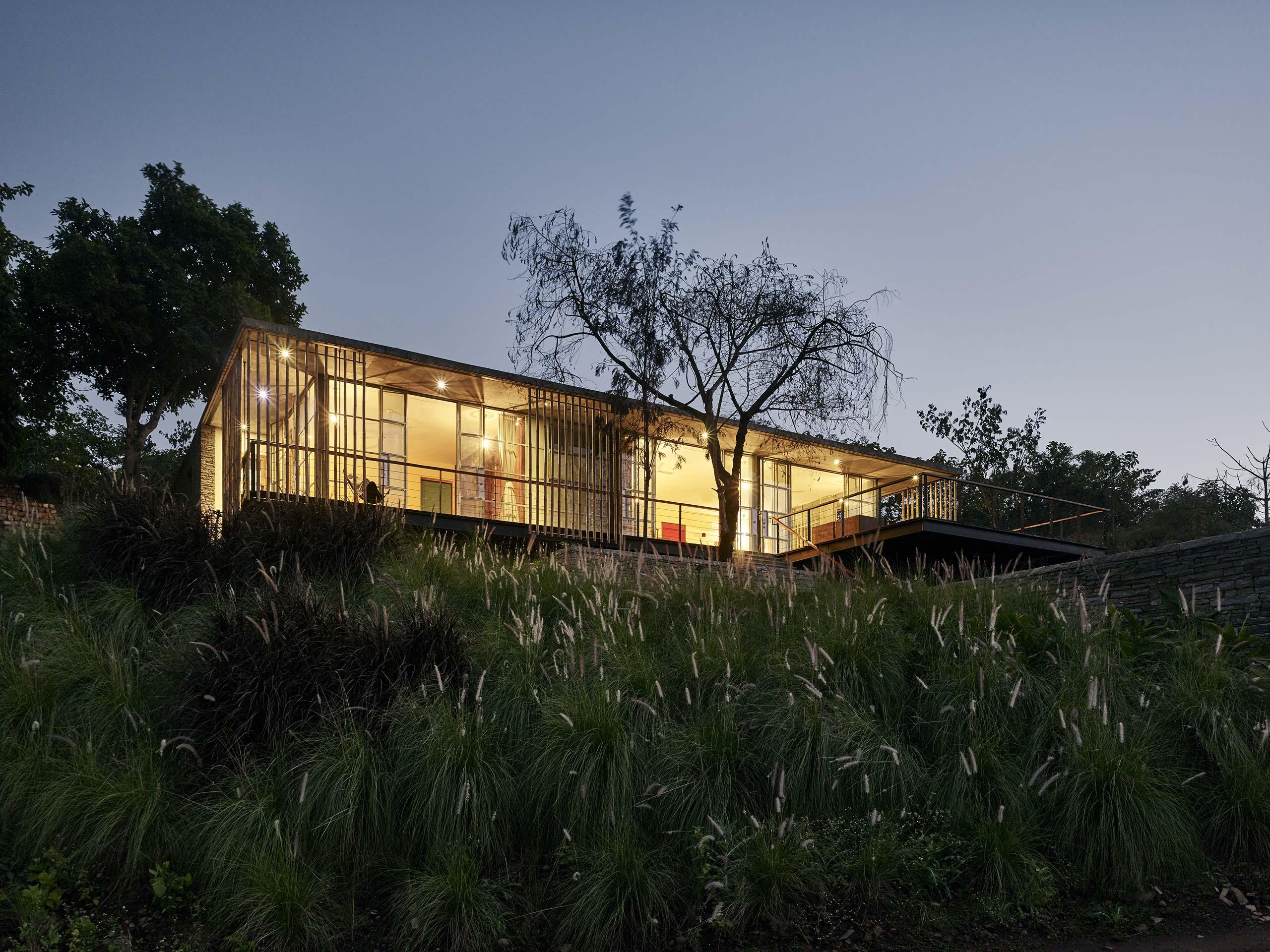 Riparian House