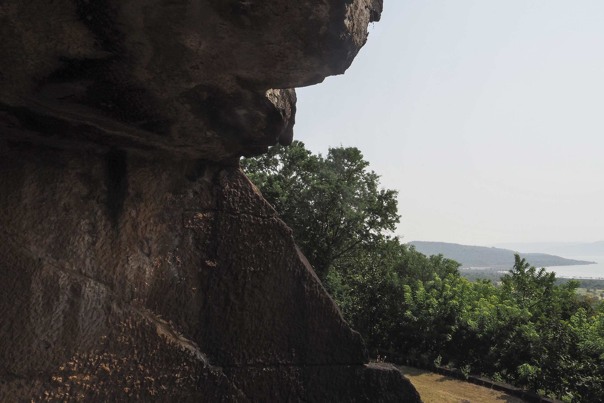 buddhist caves alibaug maharashtra india
