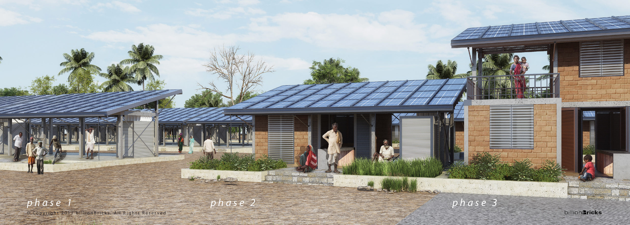 phased construction of powerHYDE self financing home