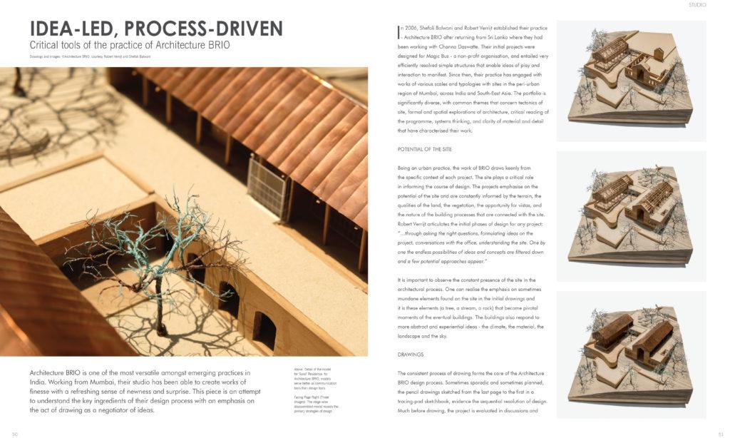 Inside Journal: Idea-led, Process Driven - Spread 1
